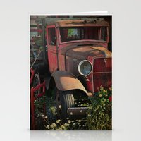 Maude's Truck Stationery Cards