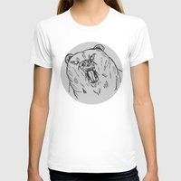 Burr Womens Fitted Tee White SMALL