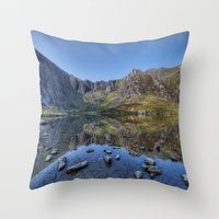 Idwal Sunrise Throw Pillow