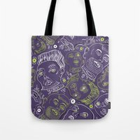 Floating Heads (Hallowee… Tote Bag