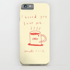 coffee talk iPhone 6 Slim Case