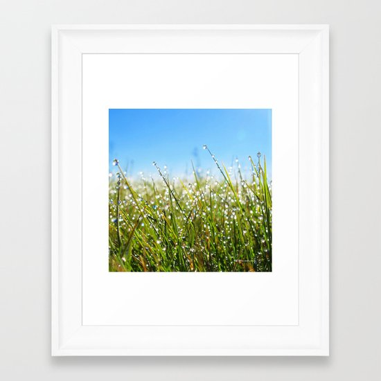 Melting Moments Framed Art Print
