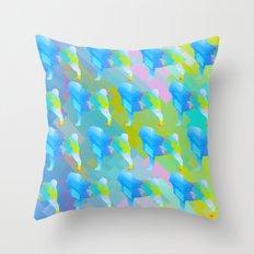 Pugs Pattern Throw Pillow