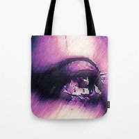 Tears - Pencil Drawing Tote Bag