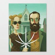 American Gothic High Canvas Print