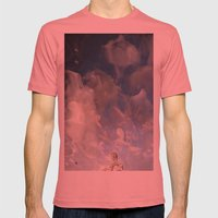 Semiotic Sky  Mens Fitted Tee Pomegranate SMALL