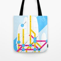 Michigan Highway System Tote Bag