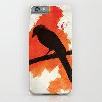 iPhone & iPod Case featuring Dark Wings, Dark Words by ayarti