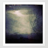 lomographic Sky 5 Art Print