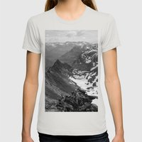Archangel Valley Womens Fitted Tee Silver SMALL