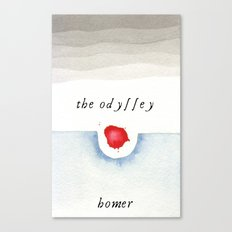 The Odyssey Book Cover Canvas Print