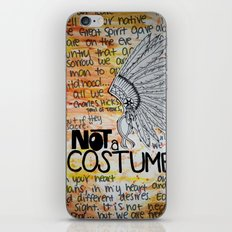 Not A Costume. iPhone & iPod Skin
