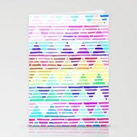 Stripey Stationery Cards