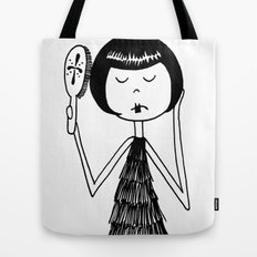 Eloise brushes her hair Tote Bag