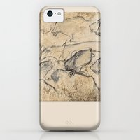 iPhone 5c Cases featuring  Aurignacian Art by anipani