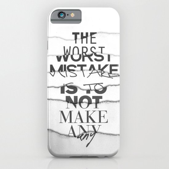 The Worst Mistake iPhone & iPod Case