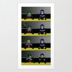 PokePoke Art Print
