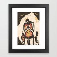 Humanimal Framed Art Print