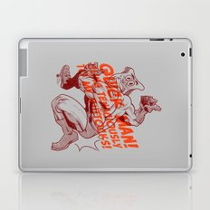 Powdered Toast Man -after kirby Laptop & iPad Skin