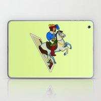 LAST CARD IN THE DECK Laptop & iPad Skin