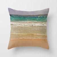 SEA-DUCED Throw Pillow