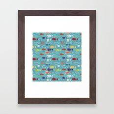 Fish poissons 100 Framed Art Print
