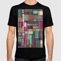 City Lines SMALL Mens Fitted Tee Black