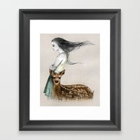 The Letter E Framed Art Print