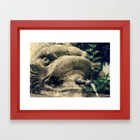 Fuente Framed Art Print