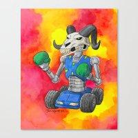 Put Up Your Dukes Canvas Print