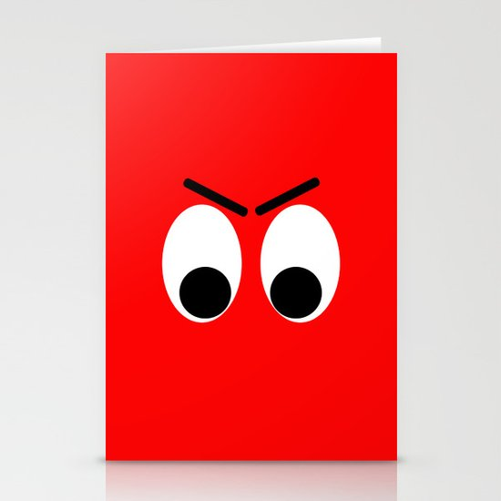 I is Mad Stationery Card