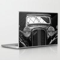 car Laptop & iPad Skins featuring Car by Veronika