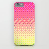 iPhone Cases featuring Pixel Pattern 5 by Beyond Infinite