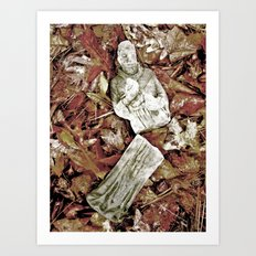 The Fall of Faith Art Print