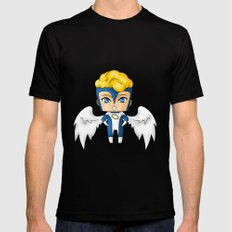 Chibi Archangel SMALL Mens Fitted Tee Black