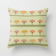MARIO'S GARDEN Throw Pillow