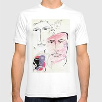 Four Seasons Mens Fitted Tee White SMALL