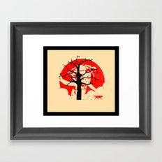 Keep Hiding Framed Art Print