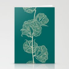 Cotton of Teal Stationery Cards