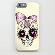 Sugar Skull (Yellow) iPhone 6s Slim Case