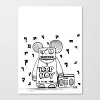 Hip Hop Is All The Rage Canvas Print
