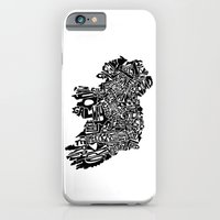 iPhone & iPod Case featuring Typographic Ireland by CAPow!