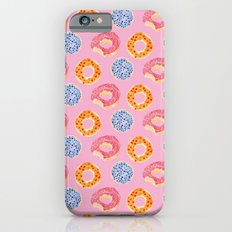 sweet things: doughnuts (pink) Slim Case iPhone 6s