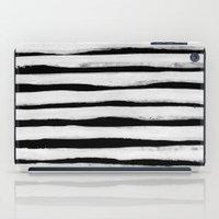 Black And White Stripes … iPad Case