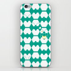 Honey Bee back to Nature with Love iPhone & iPod Skin