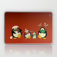 Penguin Family  Laptop & iPad Skin