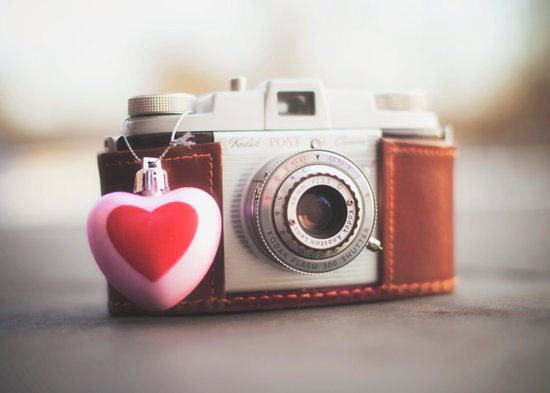 ♥ Kodak Pony Vintage Camera Art Print