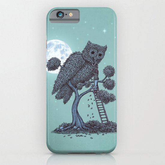 The Night Gardener  iPhone & iPod Case