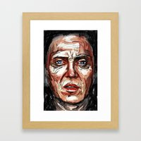 Walken Framed Art Print