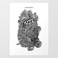 Nyarlathotep Art Print